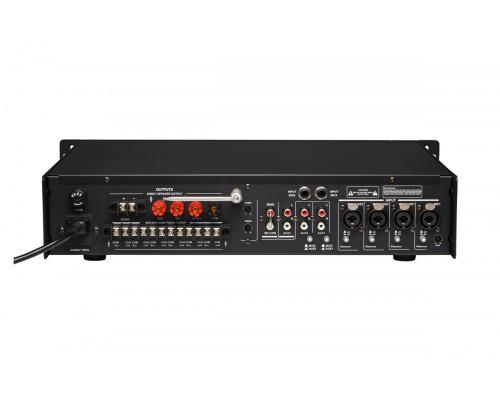 Трансляційний мікшер-підсилювач з USB DV audio SA-120.6P