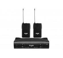 Радіосистема DV audio B-2 з петличними мікрофонами