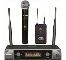 Радіосистема DV audio BGX-224 MKII комбінована (з ручним та поясним передавачами)