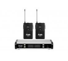 Радіосистема DV audio BGX-224 Dual з петличними мікрофонами