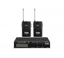 Радіосистема DV audio BGX-24 з петличними мікрофонами