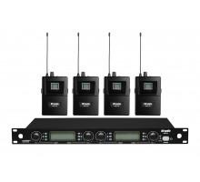 Радіосистема DV audio MGX-44B з петличними мікрофонами
